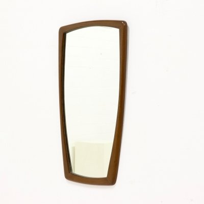 Large Teak Mirror, Danish Design 1960s