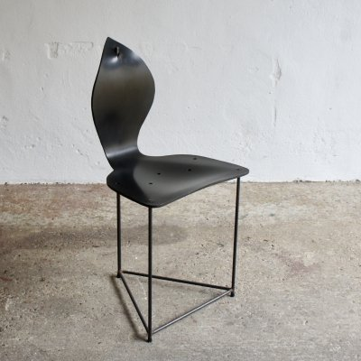 Brutalist Industrial Side Chair