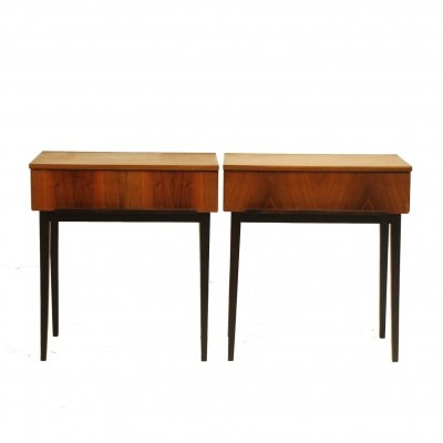Pair of Wooden bedside tables by UP Závody