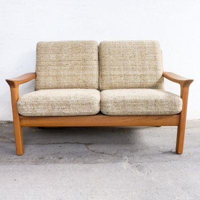 2-Seater Teak Sofa by Juul Kristensen