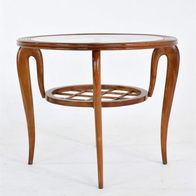 Italian Mid-Century Coffee Table by Poalo Buffa, 1950s