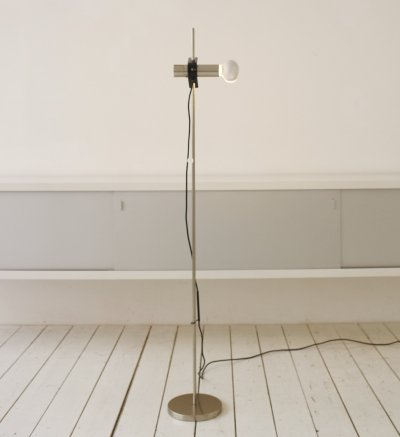 Model 399 floor lamp by Angelo Ostuni & Renato Forti for Oluce, 1960s
