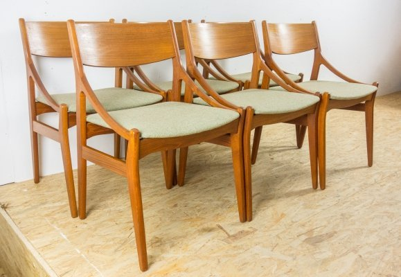 Set of 6 chairs by Vestervig Eriksen