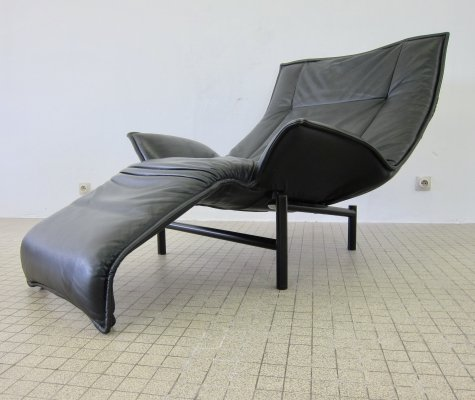 Vintage Cassina 'veranda' lounge chair by Vico Magistretti, 1983