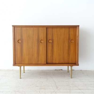 Walnut cabinet by William Watting for Fristho, 1950s