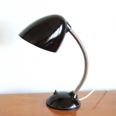 Industrial bakelite desk lamp by Elektrosvit, Czechoslovakia 1970s