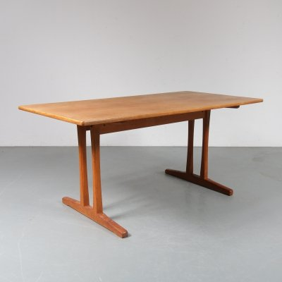 'Shaker' dining table by Borge Mogensen for FDB Mobler, Denmark 1950s