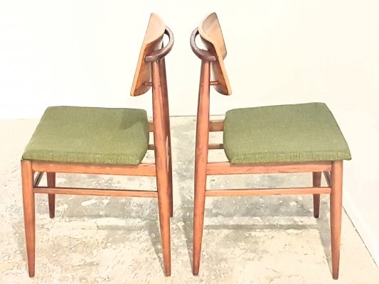 Pair of dining chairs by Topform, 1960s