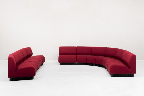 9-piece sofa / seating group by Don Chadwick for Herman Miller