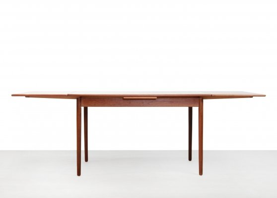 Danish design teak extendable dining table