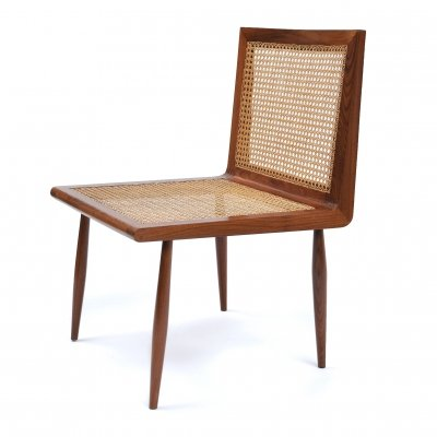 Low Bedroom Chair by Joaquim Tenreiro, Brazil 1950s