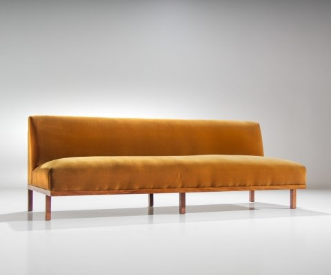 Branco & Preto M1 Sofa in Caviuna Wood, Brazil 1960s