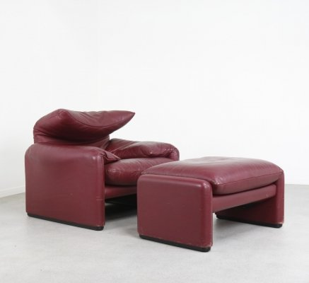 Maralunga 675 lounge chair by Vico Magistretti for Cassina, 1970s
