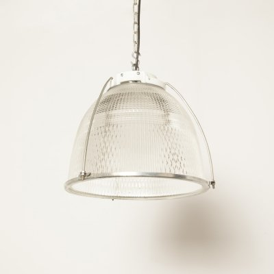 Fresnel texture glass Hanging lamp by Philips