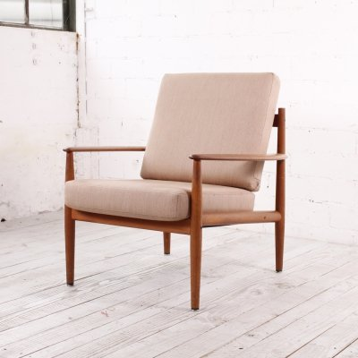 Danish Teak easy chair by Grete Jalk for France & Søn, 1960s