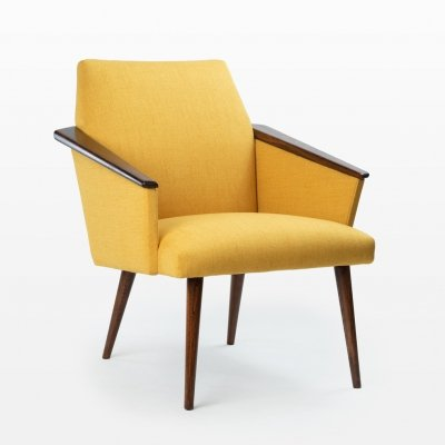 Yellow Radomsko armchair, 1960s