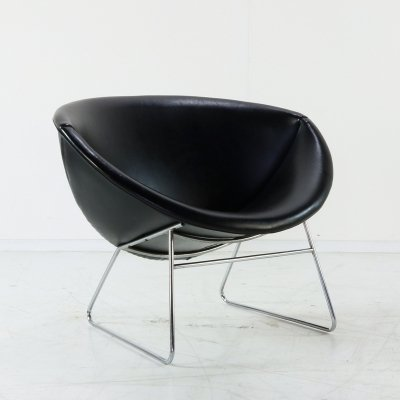 Cocco lounge chair by J. H. Rohé for Rohé Noordwolde, 1970s