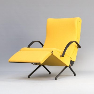 1st edition Osvaldo Borsani 'P40' lounge chair for Tecno, 1950s