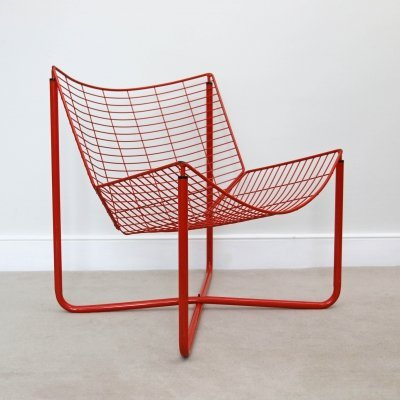 Vintage Jarpen Wire Chair by Niels Gammelgaard for Ikea, 1980s