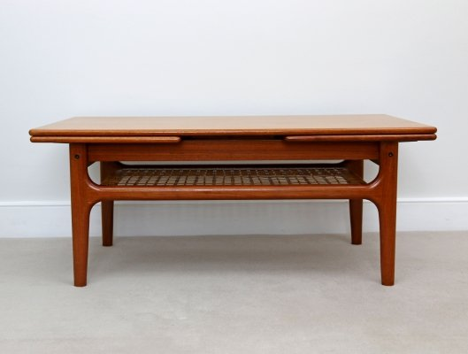 Mid Century Danish Metamorphic Coffee Table by Trioh, 1960s