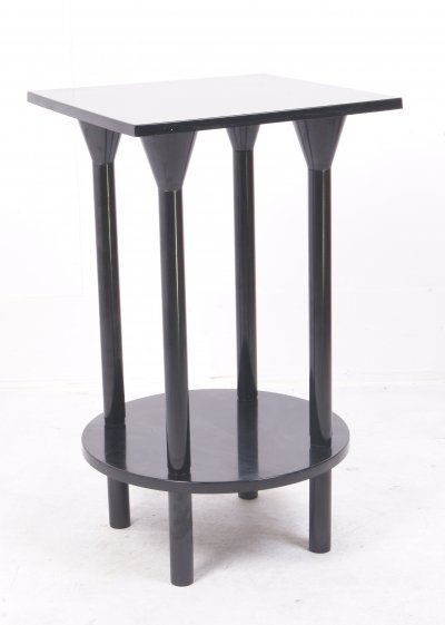 Round/square side table by Kartell, 1980s