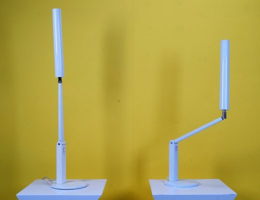 Pair of modern desk lamps by Hala, 1970s