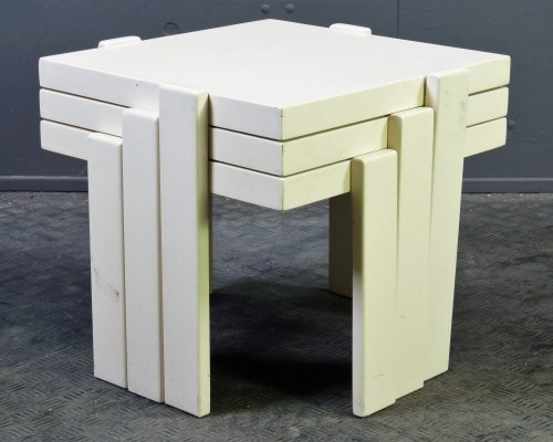 Set of 3 cubistic nesting tables