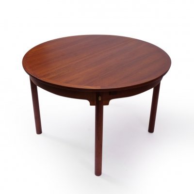 Vintage Circular Borge Mogensen Dining Table in Teak