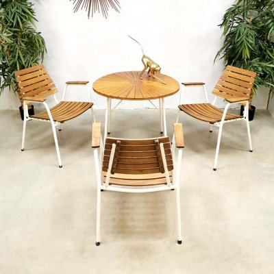 Midcentury Danish design Daneline outdoor gardenset
