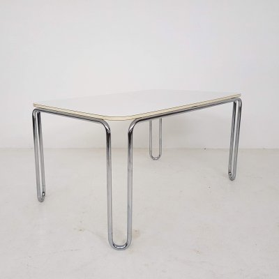 Resopal tubular steel dining table by Läsko Studioform International