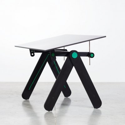Drawing table or desk by Paolo Parigi for Heron Parigi, Italy 1975