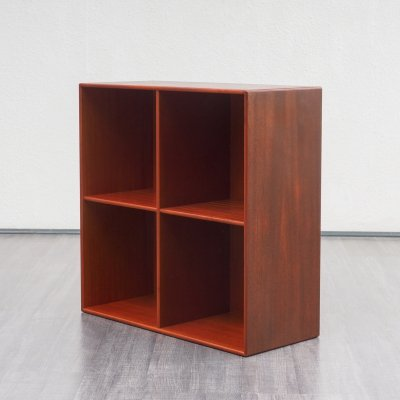 8 x mahogany shelf / bookcase, 1970s
