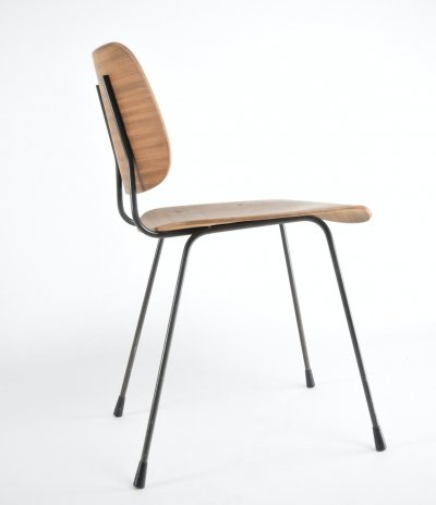 Very rare Pilastro desk chair by Tjerk Reijenga, 1950s