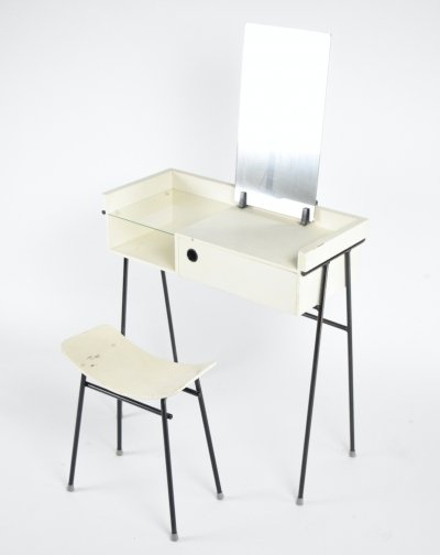 Rare 1956 dressing table & stool by Rob Parry for DICO (Diks & Coenen)