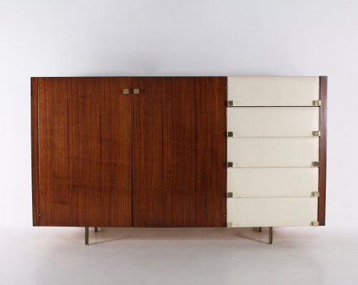 Rare rosewood cabinet by Roger Landault for Regy, 1960s