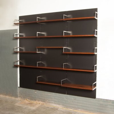 Japanese or U-series wall unit / bookcase by Cees Braakman for UMS Pastoe