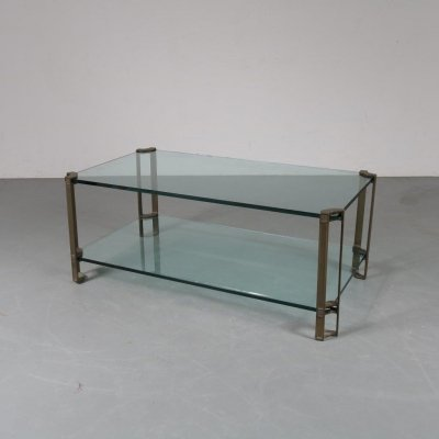 Glass coffee table by Peter Ghyczy for Ghyczy, the Netherlands 1970s