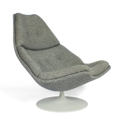 Swivel chair F590 by Geoffrey D. Harcourt for Artifort, 1970s