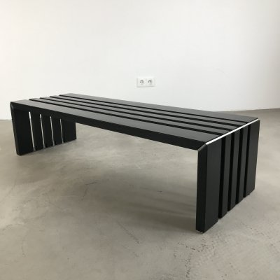 Slat Bench / Coffee Table by Walter Antonis for Spectrum, 1970s