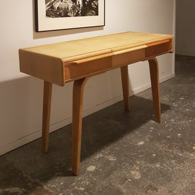 Vanity dressing table from the Oak series by Cees Braakman for Pastoe