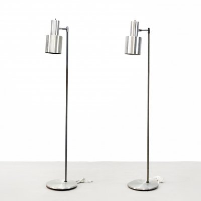 Set of two Jo Hammerborg Studio floorlamps by Fog & Morup