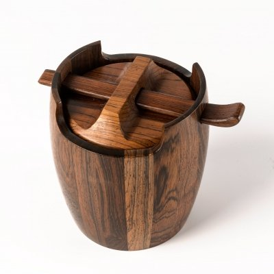 Tobacco Humidor Jar by Jean Gillon for Wood Art, 1960s