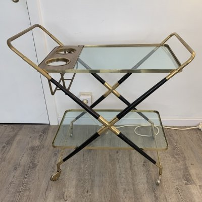 Cesare Lacca serving trolley, 1950s