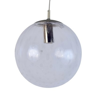 Glass globe pendant light by Raak Amsterdam