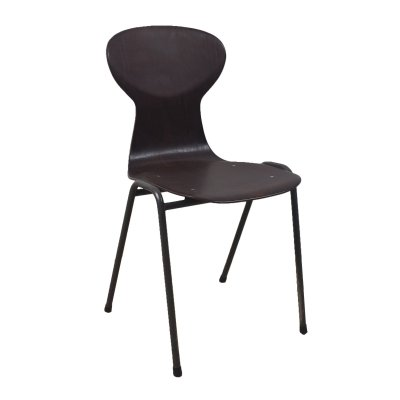 Obo black industrial chair by Eromes