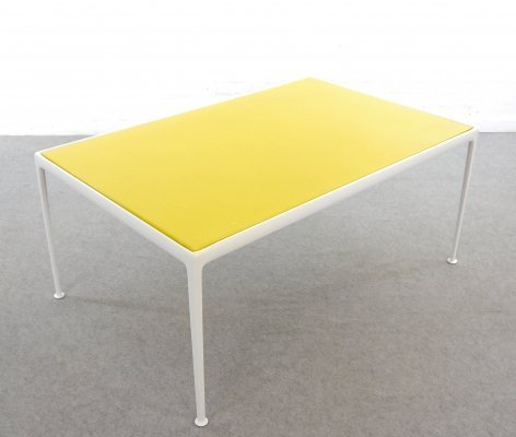 Yellow Richard Schultz Outdoor Garden Table for Knoll, 1960s