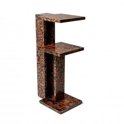 André Sornay Postmodern Style Side Table, 1980s