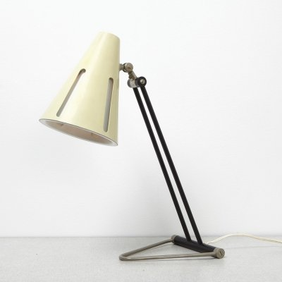 Sun Series 1 desk lamp by H. Busquet for Hala Zeist, 1950s