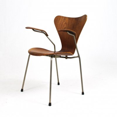 Rosewood 'butterfly' armchair by Arne Jacobsen, 1960s