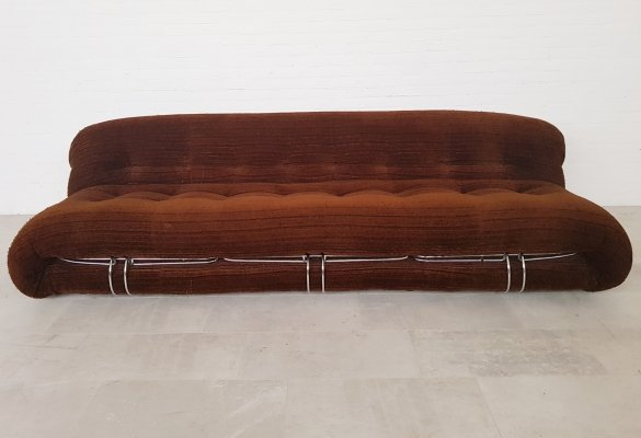 Soriana 3-seater sofa by Tobia Scarpa for Cassina, 1970s